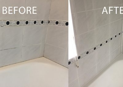 Grout Colour and Silicone Replacement